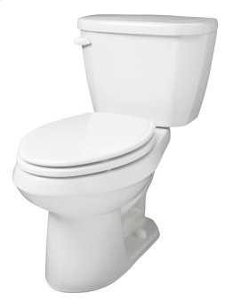 """White Viper® 1.6 Gpf 10"""" Rough-in Two-piece Elongated Toilet"""