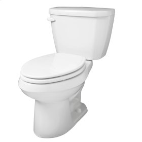 """Bone Viper® 1.6 Gpf 10"""" Rough-in Two-piece Elongated Toilet"""