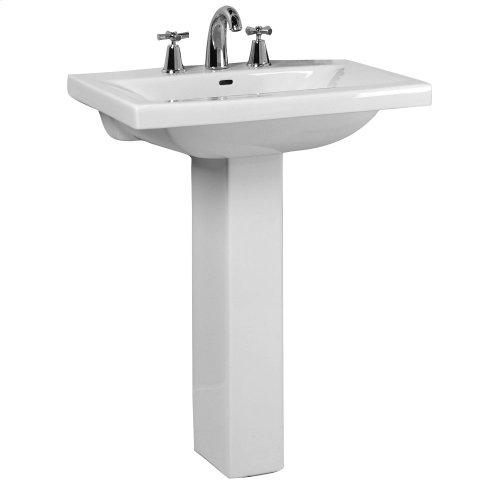 Mistral 510 Pedestal Lavatory - White