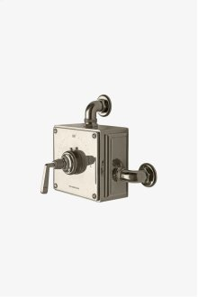 R.W. Atlas Exposed Thermostatic Valve with Metal Lever Handle STYLE: RWXS10
