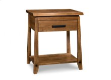 Pemberton 1 Drawer Open Nightstand with Power Management