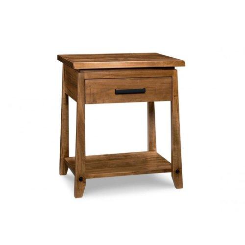 Pemberton 1 Drawer Open Nightstand