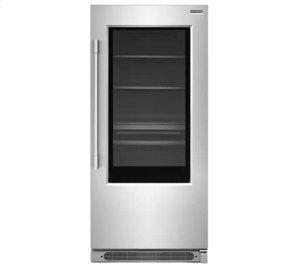 19 Cu. Ft. Glass Door All Refrigerator Product Image
