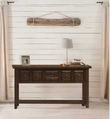 Tuscan Retreat® 6 Drawer Hall Table