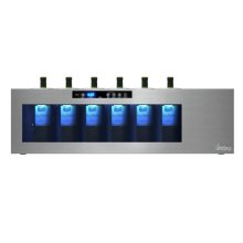 Il Romanzo 6-Bottle Single-Zone Open Wine Cooler - B Stock