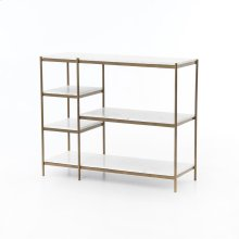 Lily Console Table-antique Brass