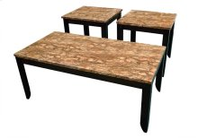 3 Pack of Tables - Cocktail Table & Two End Tables