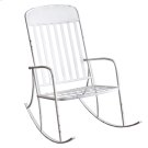 Distressed White Rocking Chair Product Image