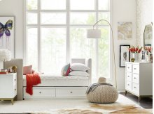 Upholstered Day Bed Twin, 3/3