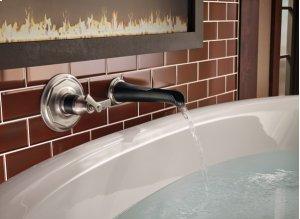 Rook Non-diverter Tub Spout With Channel Spout