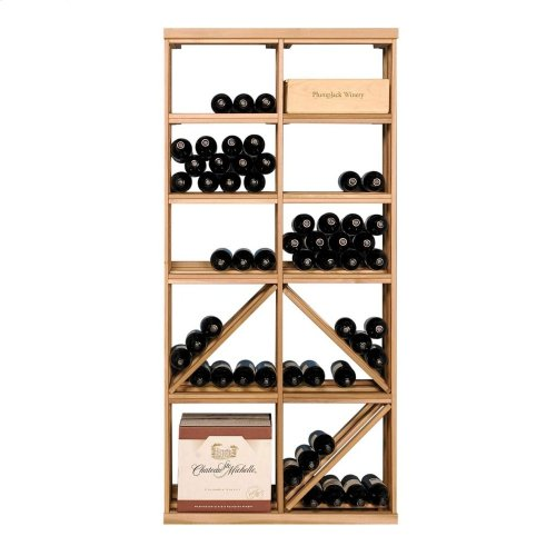 Apex 6' Redwood Wine Rack Kit (12B/D-6.1 and 12B/D-6.1) - READY TO SHIP