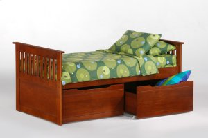 Ginger Captain's Bed in Cherry finish