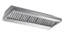 "60"" Stainless Steel Built-In Range Hood with iQ12 Blower System, 1200 CFM"