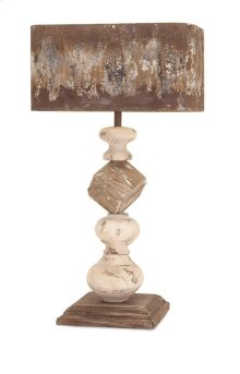 Brook Wood and Metal Table Lamp