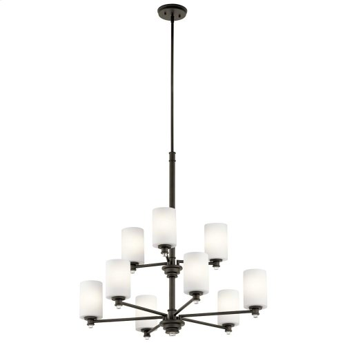 Joelson Collection Joelson 9 Light Chandelier OZ