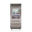 "36"" PRO Refrigerator/Freezer with Glass Door Product Image"