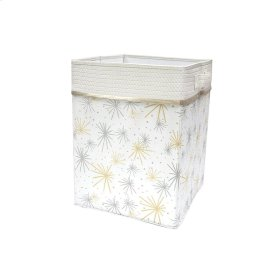 Signature Moonbeams White/Gold/Silver Celestial Storage/Hamper