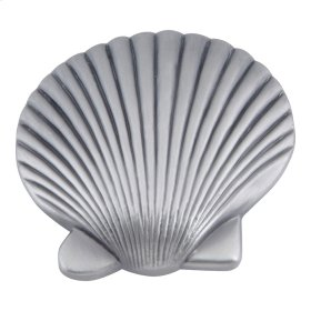 Clamshell Knob 2 Inch - Pewter