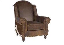 Gunnison Leather Chair, Gunnison Ottoman