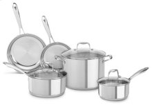 Stainless Steel 8-Piece Set - Polished Stainless Steel