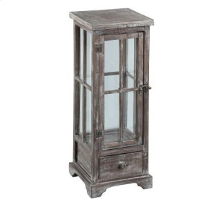Marketplace Wood Lantern Table (Small)
