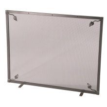 Fire screen - Leaf Collection - Single Panel with Feet