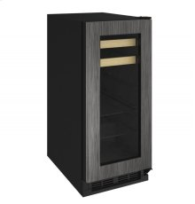 """1000 Series 15"""" Beverage Center With Integrated Frame Finish and Field Reversible Door Swing"""