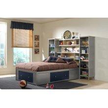 Brayden 4pc Twin Storage Platform Bedroom Suite