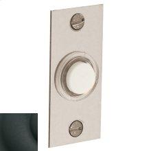 Satin Black Rectangular Bell Button