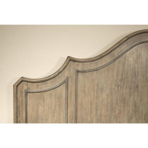Corinne - King/california King Curved Panel Headboard - Sun-drenched Acacia Finish