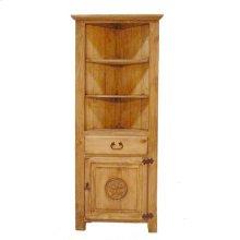 Corner Bookcase W/star