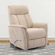 Holmes Gypsum Manual Swivel Glider Recliner