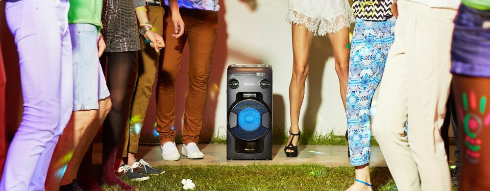 High-Power Home Audio System with BLUETOOTH(R) technology
