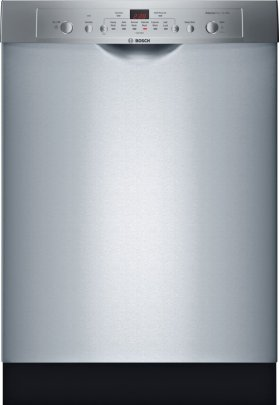 Ascenta Recessed Hndl, 6/2 Cycles, 50 dBA, Adj Rack - SS