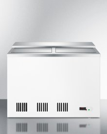 Commercial Frost-free Back Bar Chest Cooler for Storing Beer, With Digital Thermostat, 8 Baskets, and Stainless Steel Lid