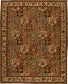Hard To Find Sizes Grand Parterre Pt04 Panel Rectangle Rug 6' X 9'