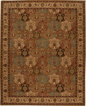 Hard To Find Sizes Grand Parterre Pt04 Panel Rectangle Rug 8'6'' X 10'6''