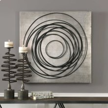 Whirlwind Metal Wall Decor