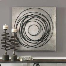 Whirlwind Metal Wall Decor