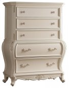 """Marquee Pearl White Chest - 42""""L x 20""""D x 56""""H Product Image"""