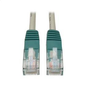 Cat5e 350MHz Molded Cross-over Patch Cable (RJ45 M/M) - Gray, 7-ft.