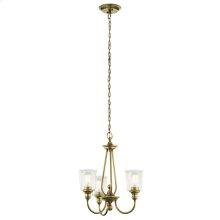 Waverly Collection Waverly 3 Light Chandelier NBR