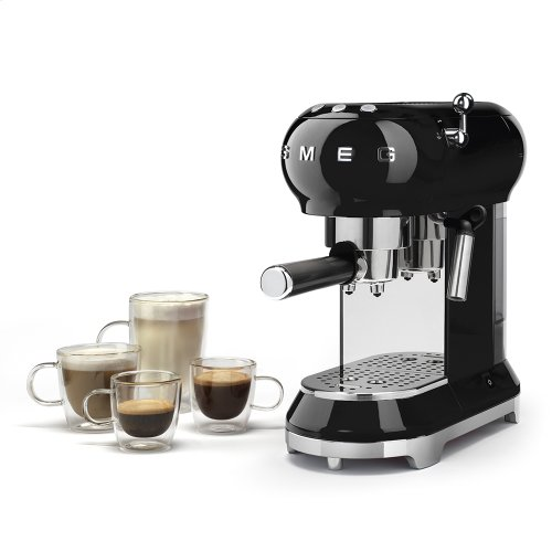 Espresso Coffee Machine Black