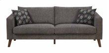 Astro - Sofa Dark Gray W/2 Accent Pillows