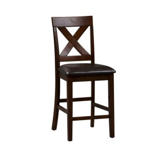 Liberty Furniture IndustriesX Back Counter Chair- Single Chair