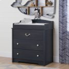 Changing Table with Drawers - Blueberry Product Image