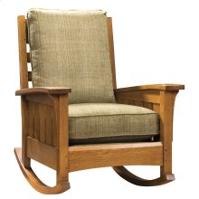 Loose Cushion, Oak Rocker