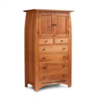 Aspen Chest Armoire with Inlay Product Image