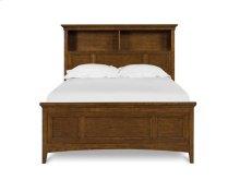 Complete Twin Bookcase Bed w/2 Storage Rails