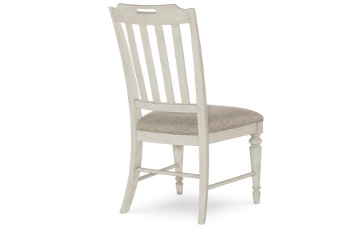 Brookhaven-Vietnam Slat Back Side Chair